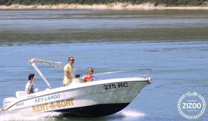 Motor boat Sessa Key Largo 19 (2005)