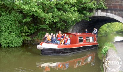 Motorboot Custom Build Narrow Boat (1987)