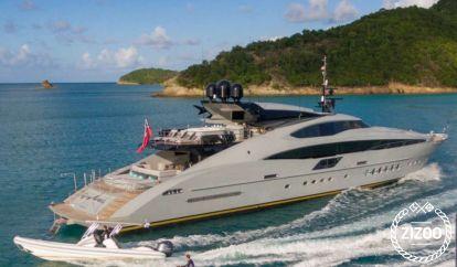 Motor boat Palmer Johnson 150 (2007)