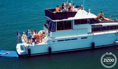 Barco a motor Bertram 75 (1983)