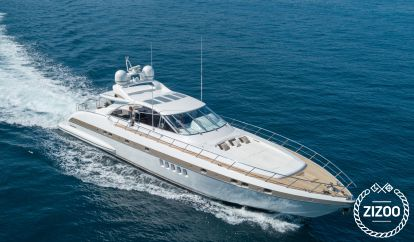 Barco a motor Mangusta 80 (2005)