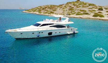 Barco a motor Ferretti 681 (2007)