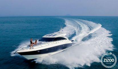 Motor boat Princess V58 (2010)