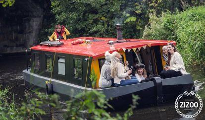 Motorboot Barge Wide Beam (2002)