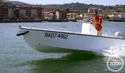 Speedboat Chantier naval de Socoa Couralin 545 (2008)