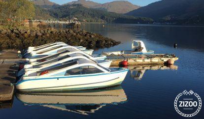 Barco a motor Custom cruising day boat (2000)