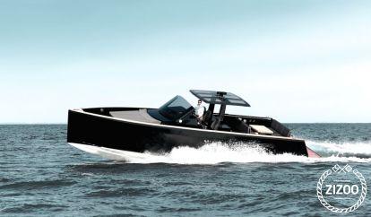 Imbarcazione a motore Fjord 40 Open (2012)