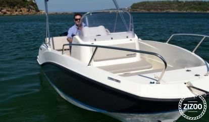 Speedboot Quicksilver 555 (2015)