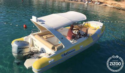 Motor boat Baracuda 23 (2012)