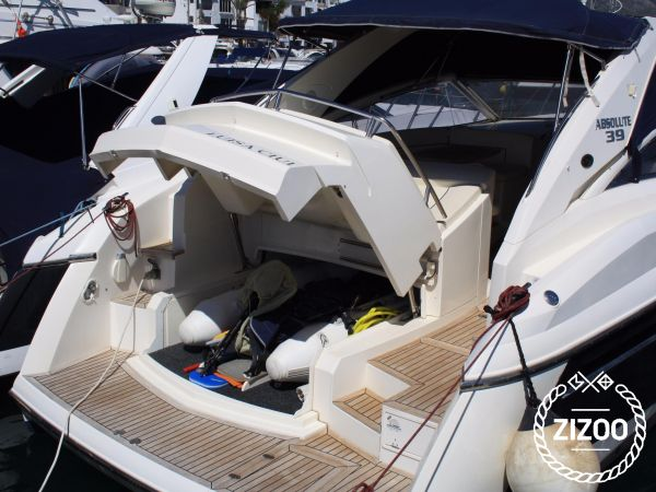 Imbarcazione a motore Absolute 39 (2007)-2