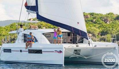 Catamarán Leopard Moorings 4000 (2018)