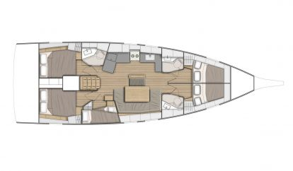 Velero Beneteau Oceanis 46.1 (2021)
