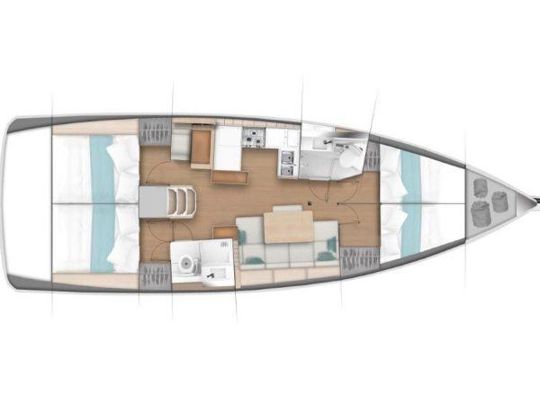 Segelboot Jeanneau Sun Odyssey 440 (2018)-0