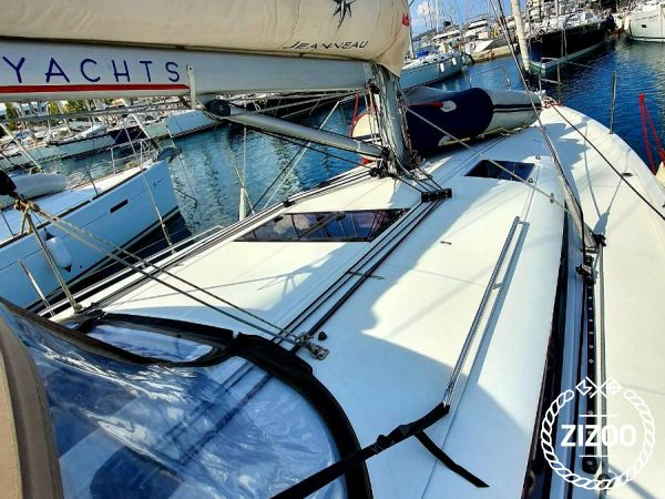 Segelboot Jeanneau Sun Odyssey 440 (2018)-4